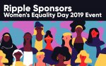 Ripple Sponsors Women's Equality Day 2019 Event