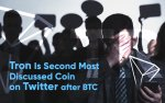 Tron Is Second Most Discussed Coin on Twitter after BTC, But Community Doesn't Care, Calling TRX Garbage