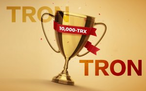 10,000-TRX Prize Promised to Community As Tron Shares Details of Celebrating Tron Virtual Machine 1-Year Anniversary