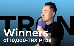 Tron CEO Justin Sun Announces Winners of 10,000-TRX Prizes in Honour of Tron Virtual Machine 1-Year Anniversary