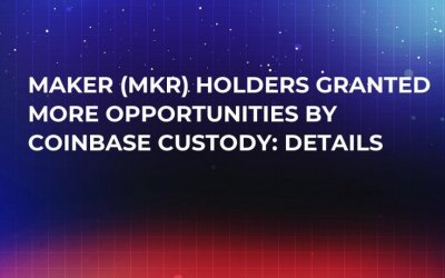 Maker (MKR) Holders Granted More Opportunities by Coinbase Custody: Details