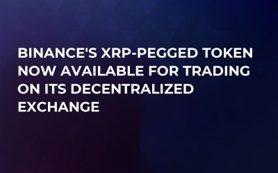 Binance's XRP-Pegged Token Now Available for Trading on Its Decentralized Exchange