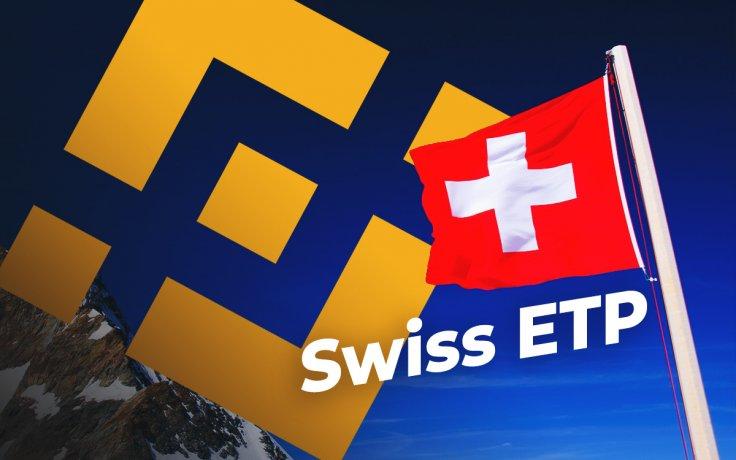 Binance Coin hiện ủng hộ ETP Thụy Sĩ trên sàn giao dịch chứng khoán SIX với giá BNB hiển thị mức tăng khiêm tốn nhất