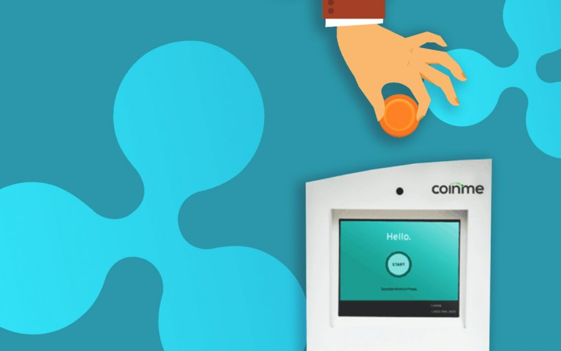 Ripple's Xpring Invests in CoinMe ATM Chain, #XRPArmy Believes XRP Will Appear on CoinMe ATMs Soon
